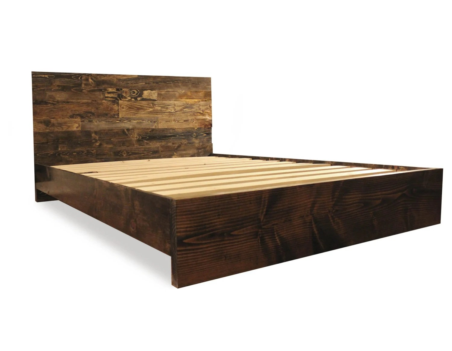 Simple Bed Platform Solid Wood Simple Platform Bed Frame Home And Living By