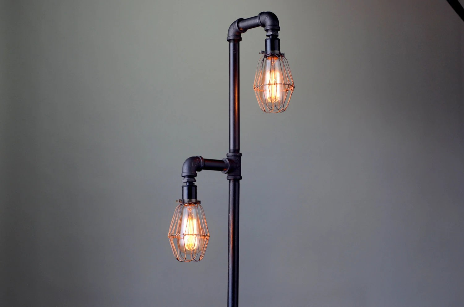 Cheap Stand Up Lamps Pipe Floor Lamp Industrial Floor Lamp Edison Bulb
