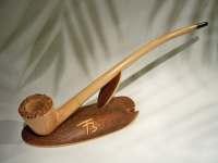 Wooden pipe briar wood smoking pipe tobacco pipe