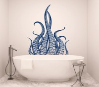 Octopus Wall Decal Tentacles Vinyl Sticker Decals by ...