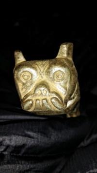 Mack Truck Hood Ornament Bulldog Design Patent 87931