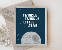 Nursery Wall Art Star Wars Nursery Decor Star Wars Nursery