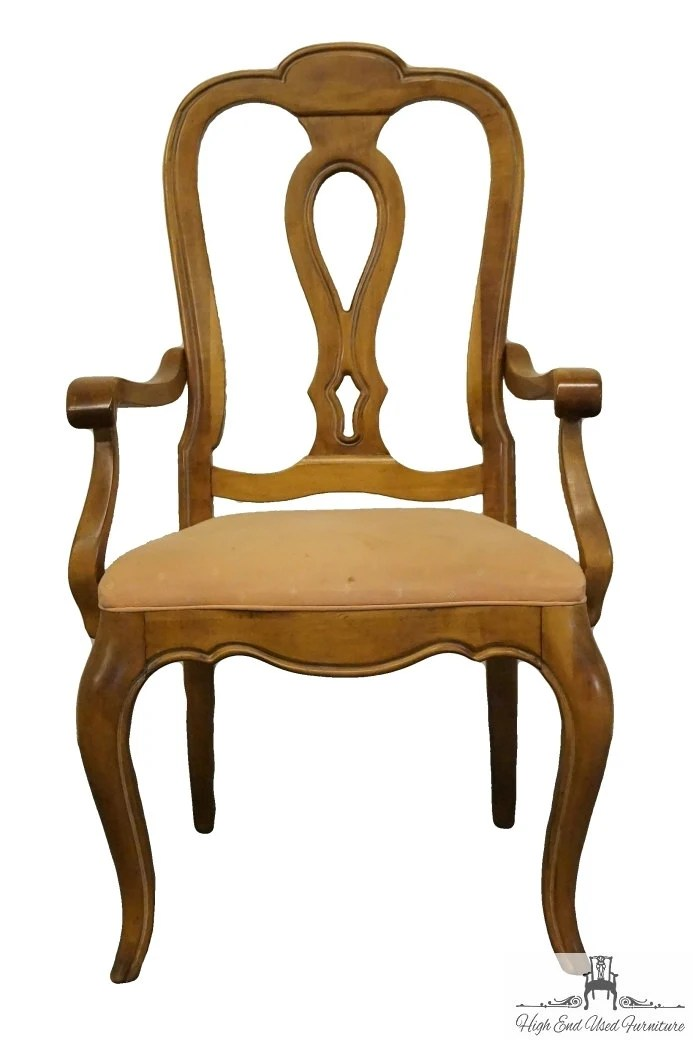 Ethan Allen Chateau Normandy Country French Dining Arm Chair