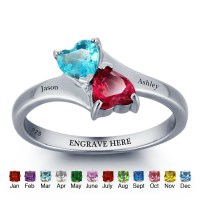 Heart Promise Ring Heart Promise Ring For Her by 1UPStyleStore