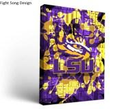 Louisiana State LSU Tigers Canvas Wall Art