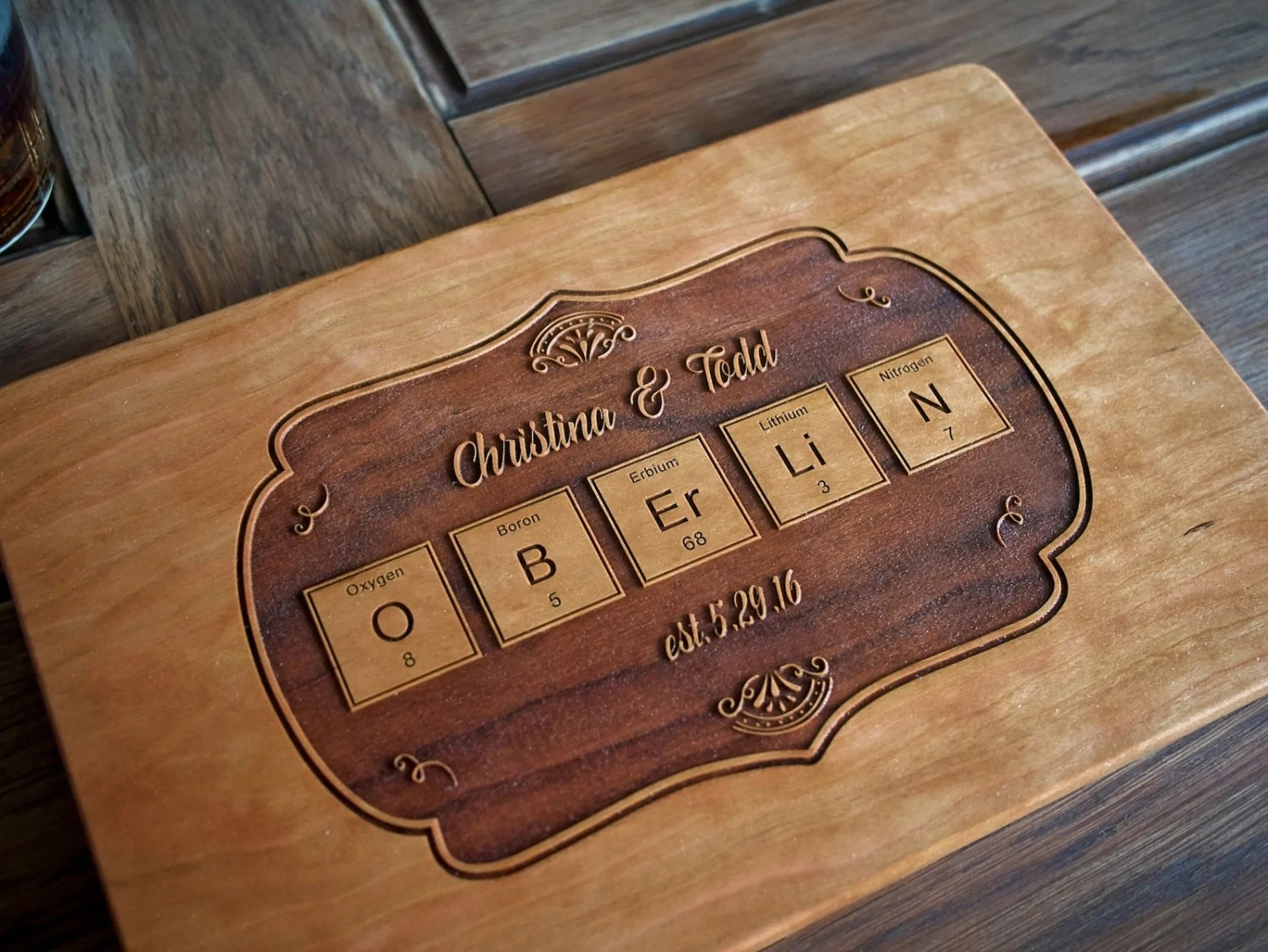 I Use This Cutting Board Periodically Shower Or Wedding Gift Engraved Wood Cutting Board School