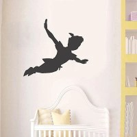 Peter Pan Shadow Wall Decal Nursery Vinyl Sticker Mural