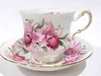 Paragon Tea Cup and Saucer, English Bone China Cups, Tea ...