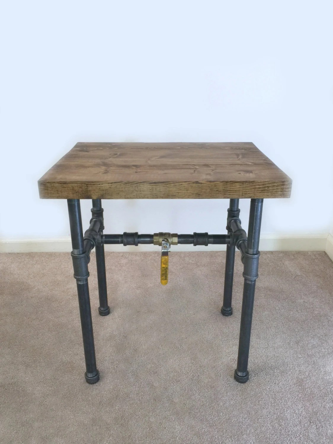 Industrieel Sidetable Industrial Side Table End Table Pipe Table Industrial