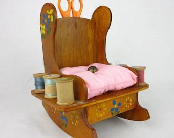 Vintage Rocking Chair Cushion Etsy