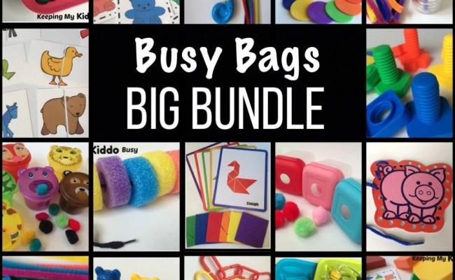 Busy Bag Bundle Toddler Preschool Travel Games Ot