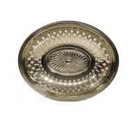 WMF Fruit Bowl Antique Silver Plate Bowl c.1900s