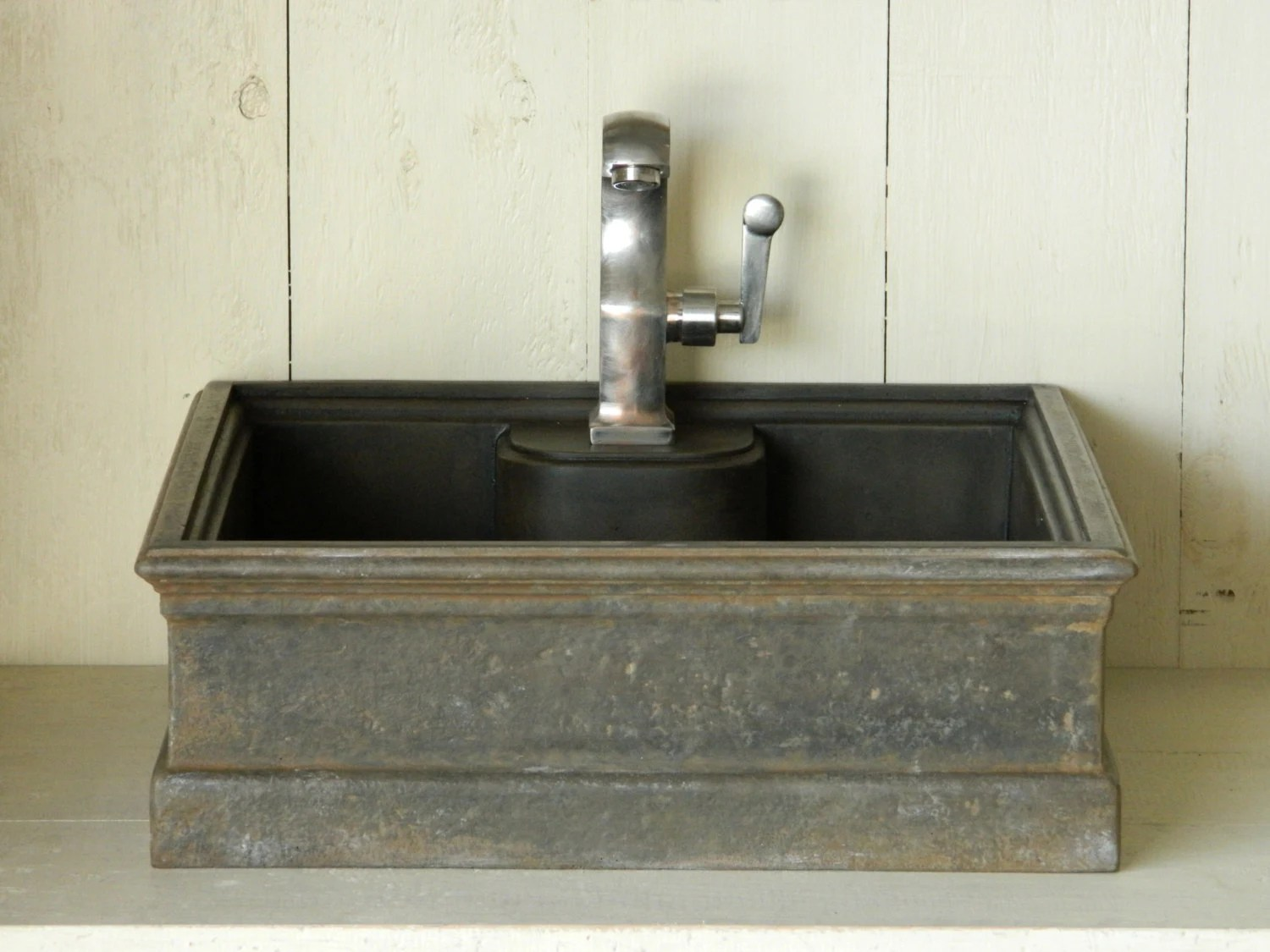 Vessel Sink 5 Cast Iron Style Concrete Sink By Atmosphyre