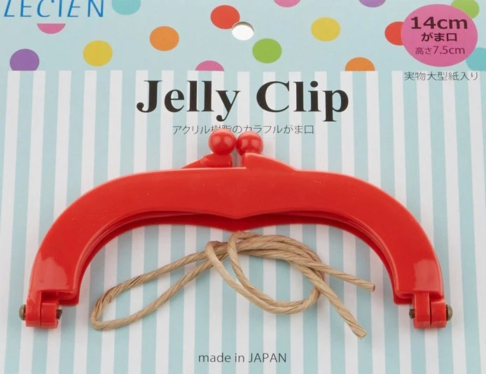 """Jelly Clip - Red - 5.5"""""""