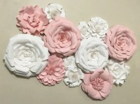 Paper Flower Wall Decor Wedding Decor Home Decor Paper