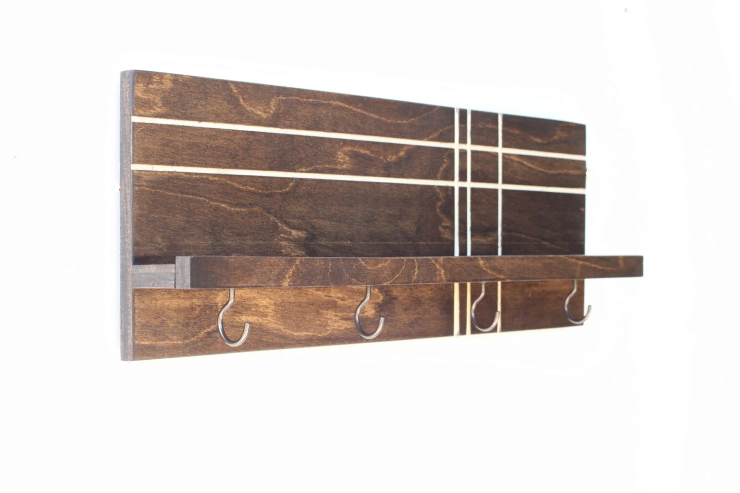 Wooden Key Holder With Shelf Modern Wood Shelf Wooden Shelf Key Holder For Wall Key