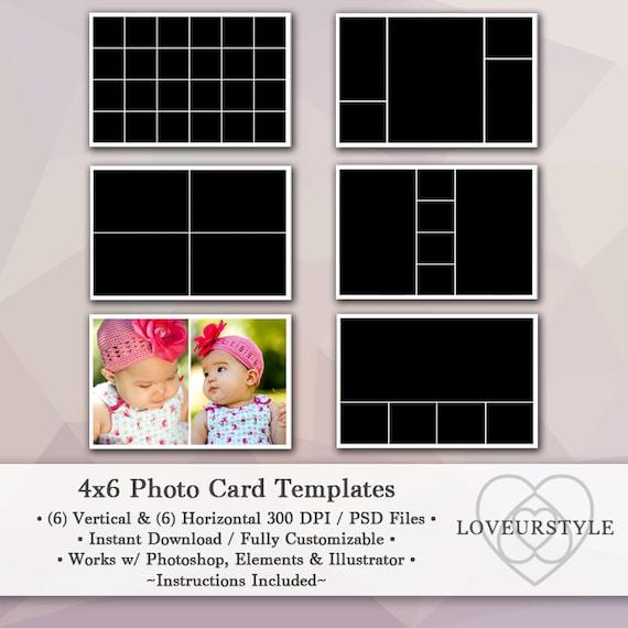 4x6 card template