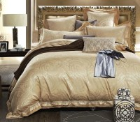 Princess Gold/Silver 4-Piece Luxury Bedding Set / by ...