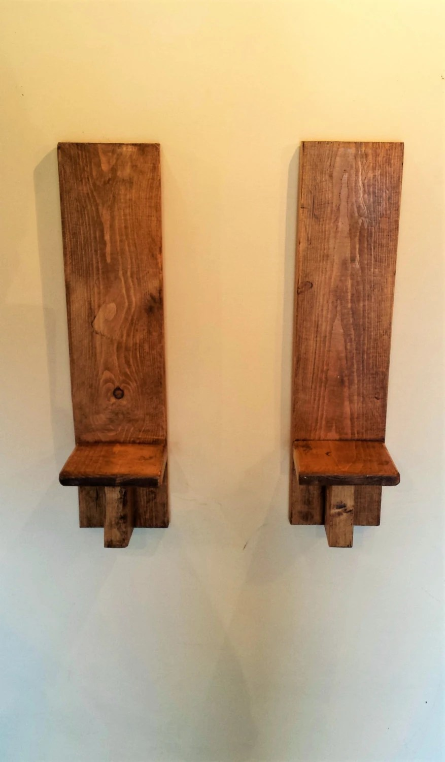Wooden Wall Shelf Wood Shelves Wooden Wall Sconces Wall