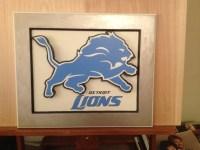 Detroit Lions Wall art