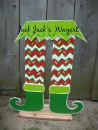 Christmas decoration Santa Helpers Out door by JackJacksWayart