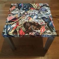 Star Wars Decoupaged Side Table