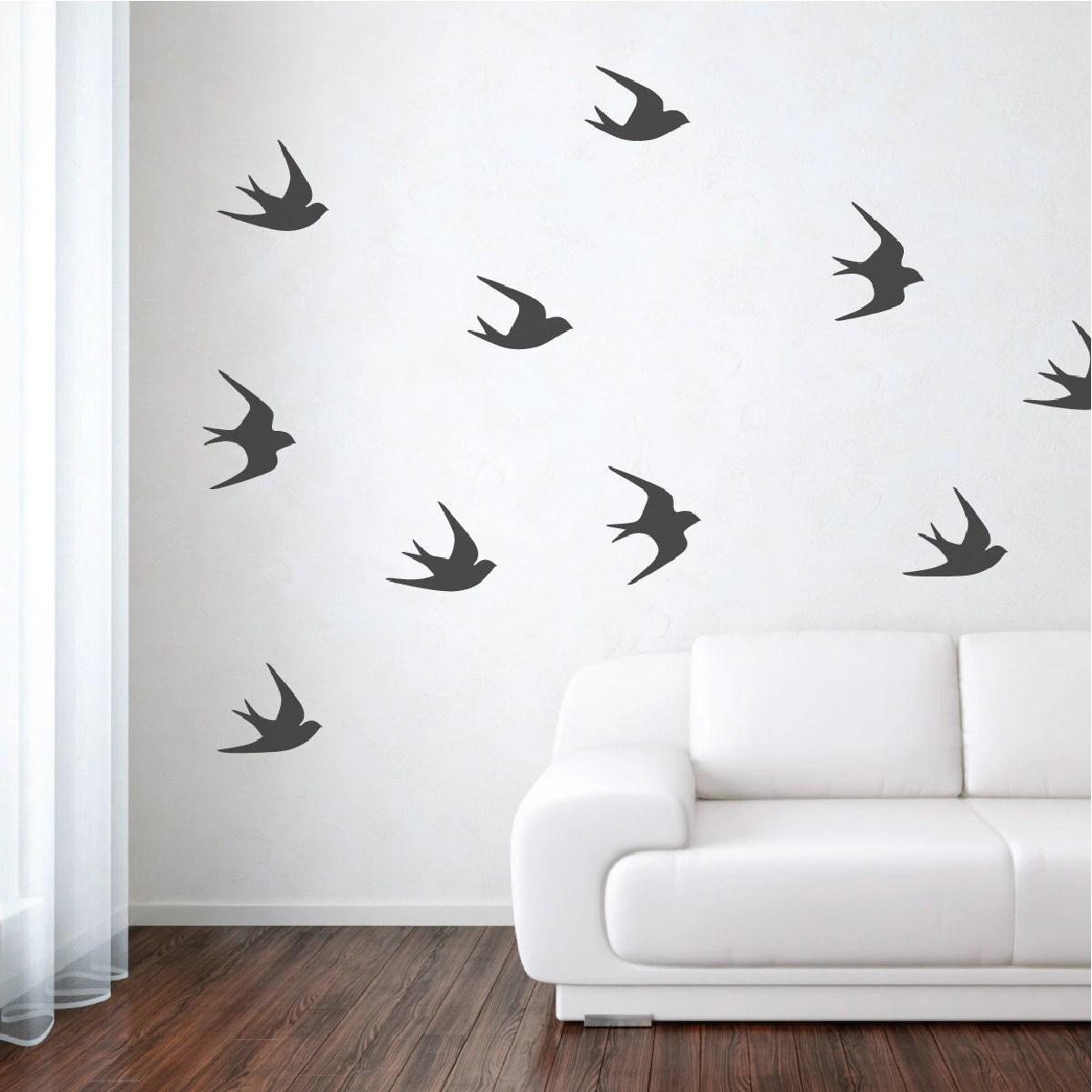 Sparrow Bird Wall Decals