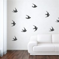 Sparrow Bird Wall Decals