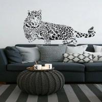 Leopard Wall Decals Vinyl Sticker Room Decal Nursery by ...