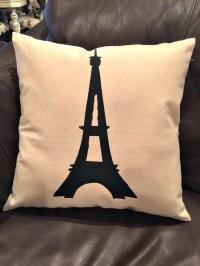 Eiffel Tower/Effiel Tower Pillow/Throw Pillows/Pillows/Pillow