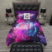 IN STOCK Lightweight Twin Galaxy Duvet Cover and by InkandRags