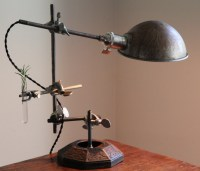 steampunk lamp Industrial desk lamp steampunk table lamp