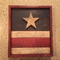 Items similar to Rustic Americana Wall Decor on Etsy