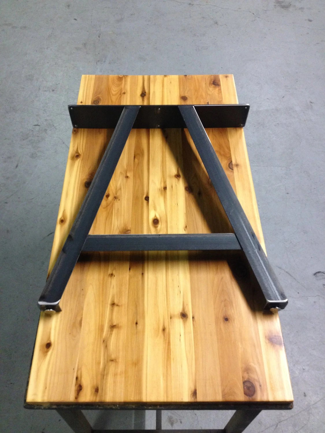 Diy Adjustable Table Legs A Frame Table Legs Adjustable Leveling Feet By Thelegshoppe