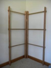 Corner Quilt Ladder Rack