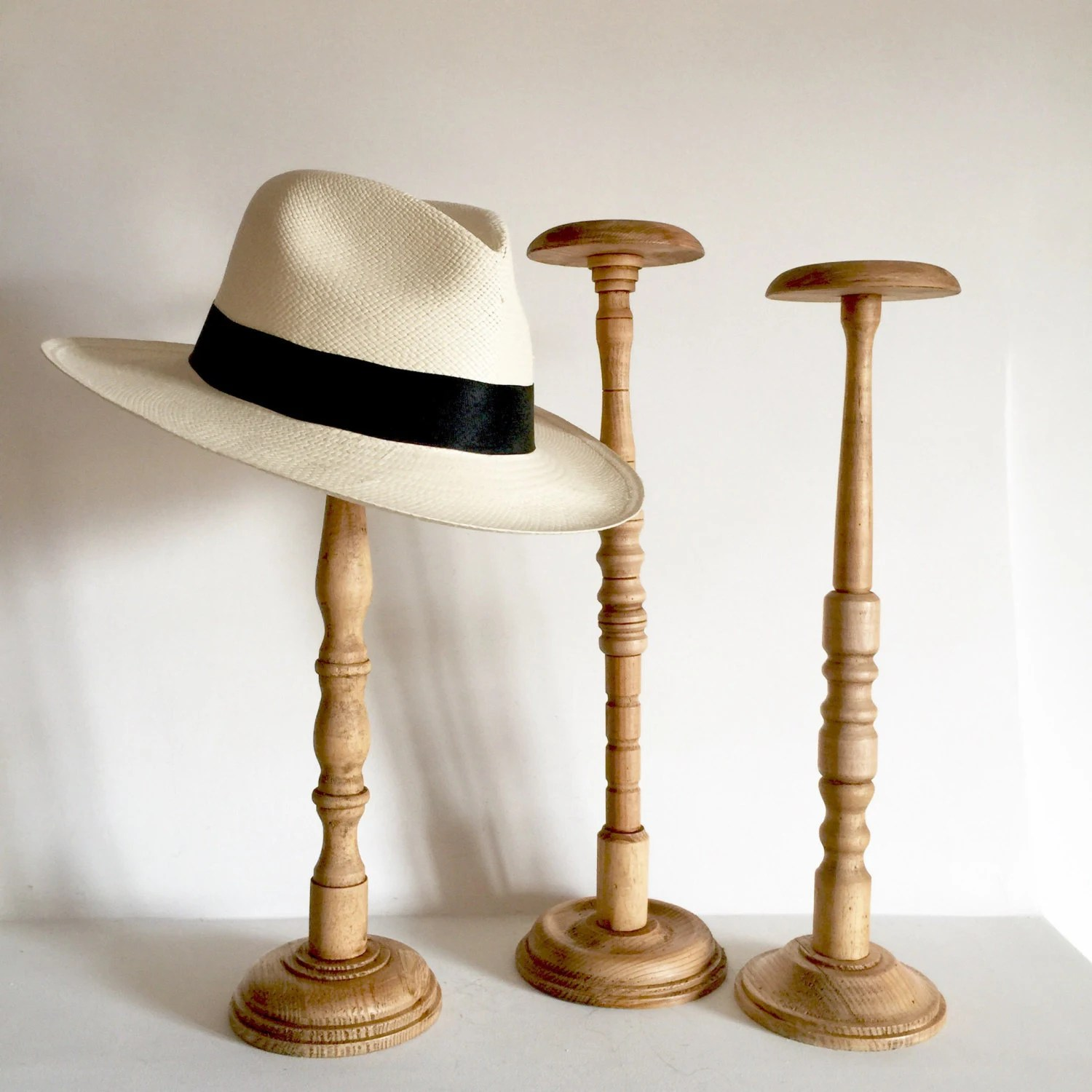 Hat Stand French Antique Wood Hat Stand Tall Size Hat Stands 18 Inches
