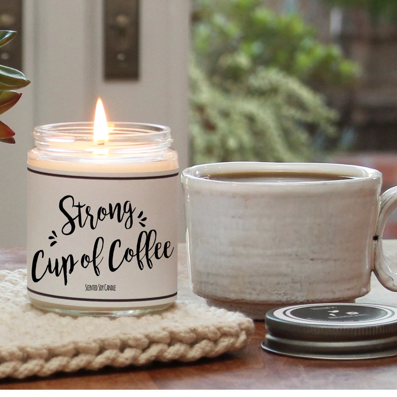 Beste Duftkerzen Strong Cup Of Coffee Scented Candle 8 Oz Candle Scented
