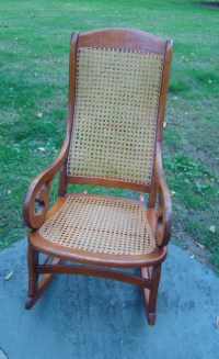 Vintage Rocker Vintage Victorian Rocking chair Victorian