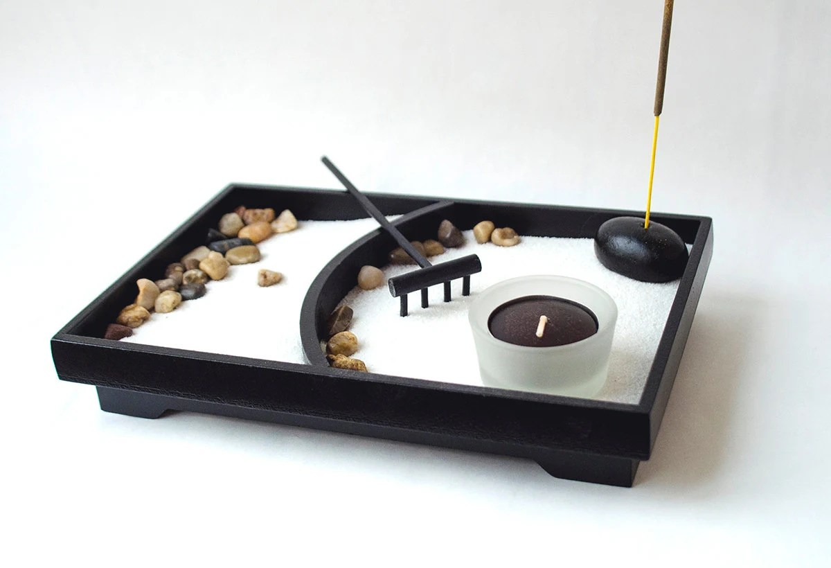 Office Zen Garden Zen Garden Diy Kit Diy Gift Desk Accessories For Women