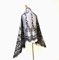 Black formal wrap evening shawls elegant wraps black sheer