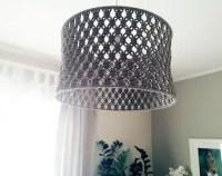 Macrame lamp