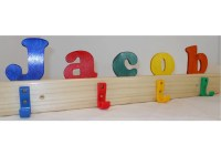 Kid's Name Coat Rack Personalized Wooden Coat Rack