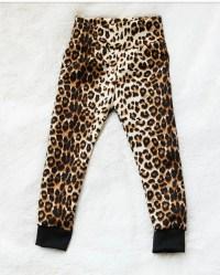 Items similar to cheetah animal print 14g tongue ring ...