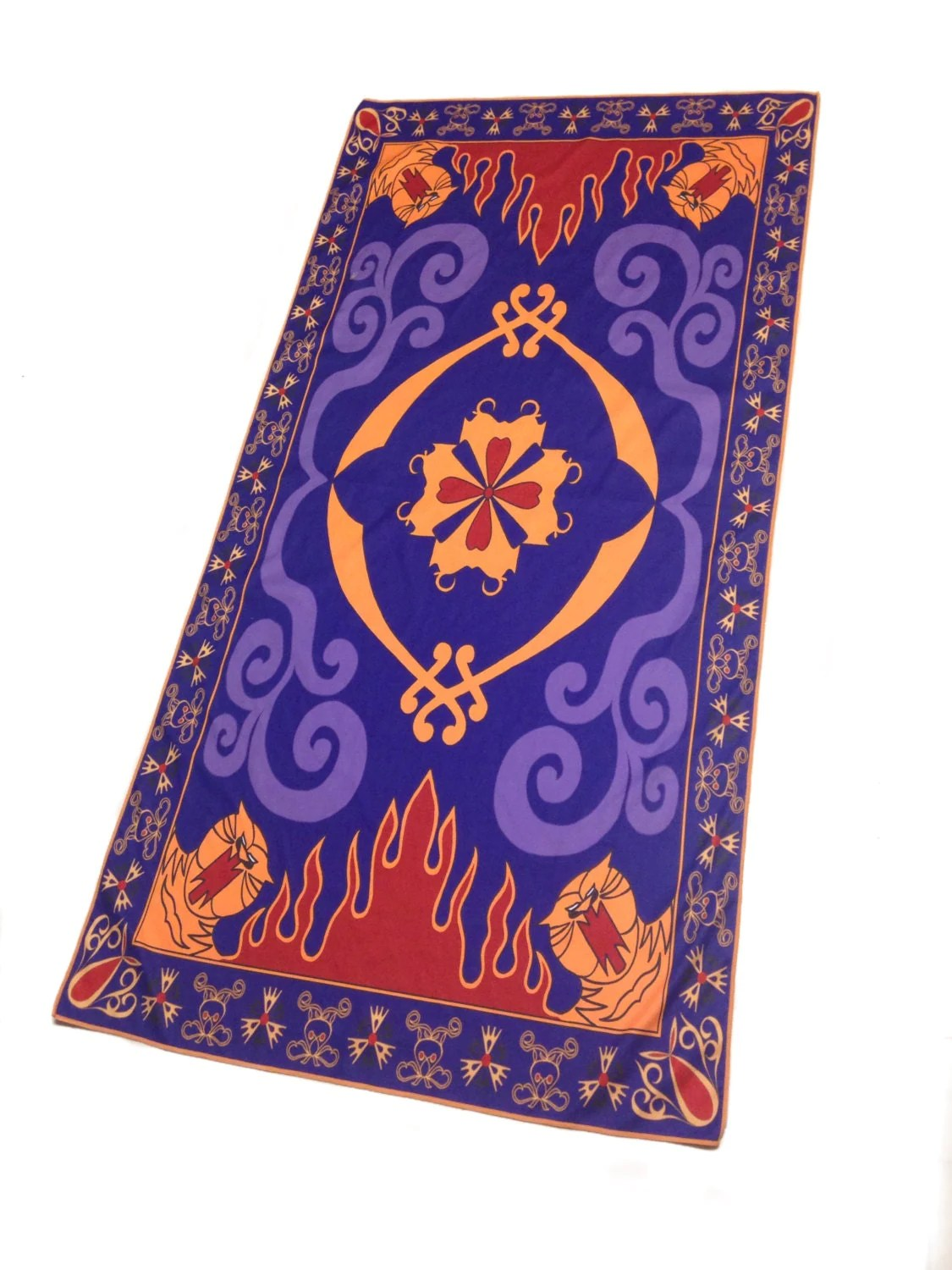 Fliegender Teppich Fasching Aladdin Magic Carpet Inspired Towel