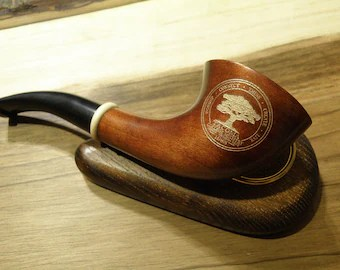 Wooden smoking pipes