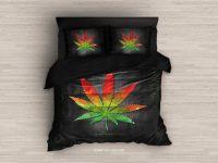 Marijuana Bedding. Marijuana Duvet Cover Weed Bedding Set