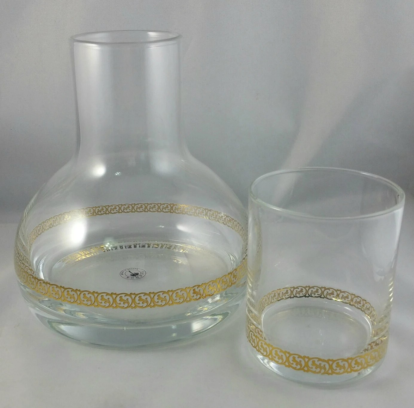 Bedside Water Carafe And Glass Vintage Bedside Water Carafe With Drinking Glass Bombay