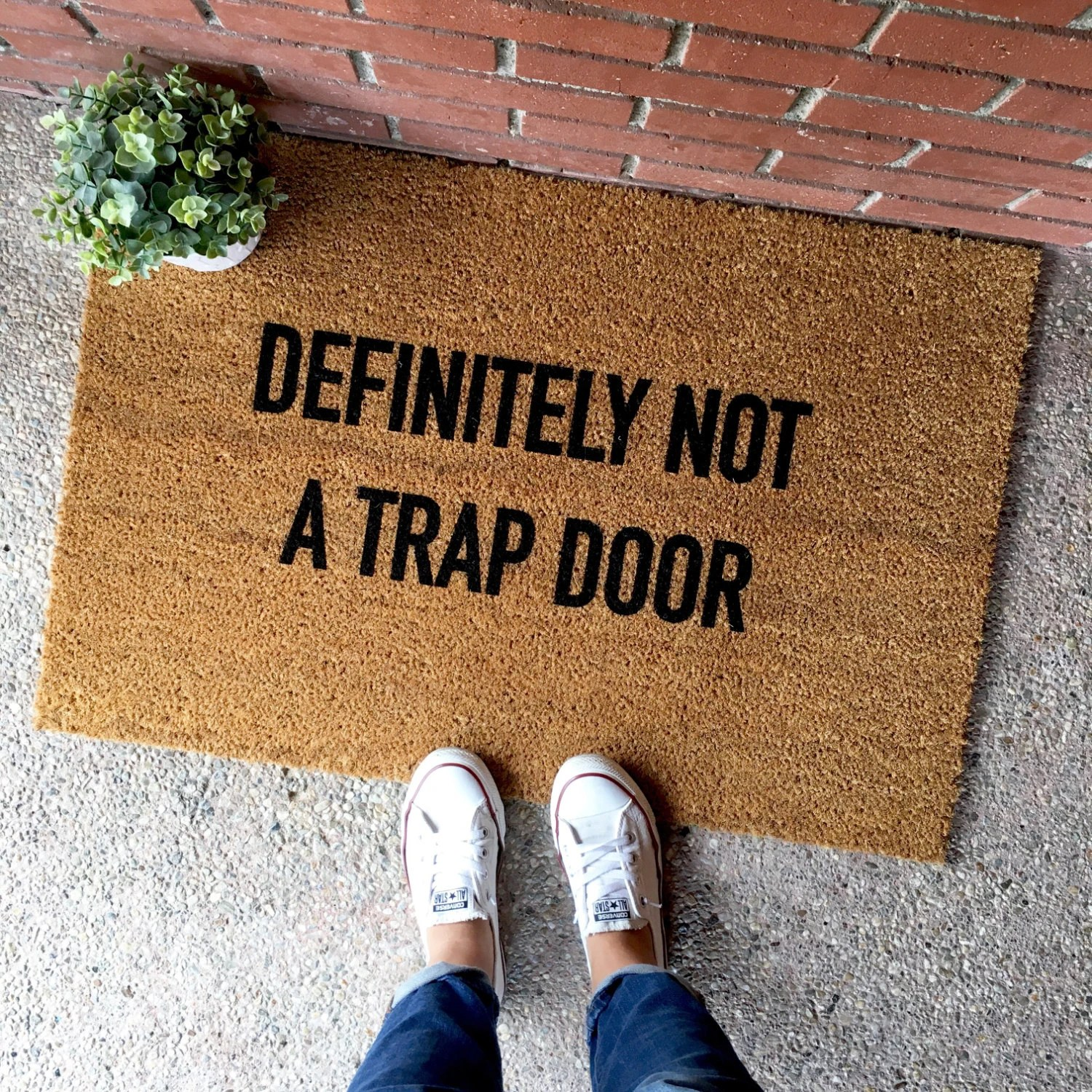 Leave Welcome Mat 13 Doormats For People Who Don 39t Want Company