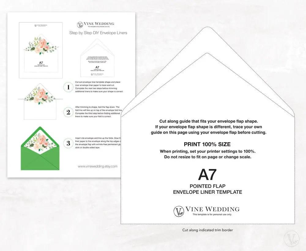 Envelope Liner Template Post Navigation Diy Envelope Liners From - a7 envelope liner template