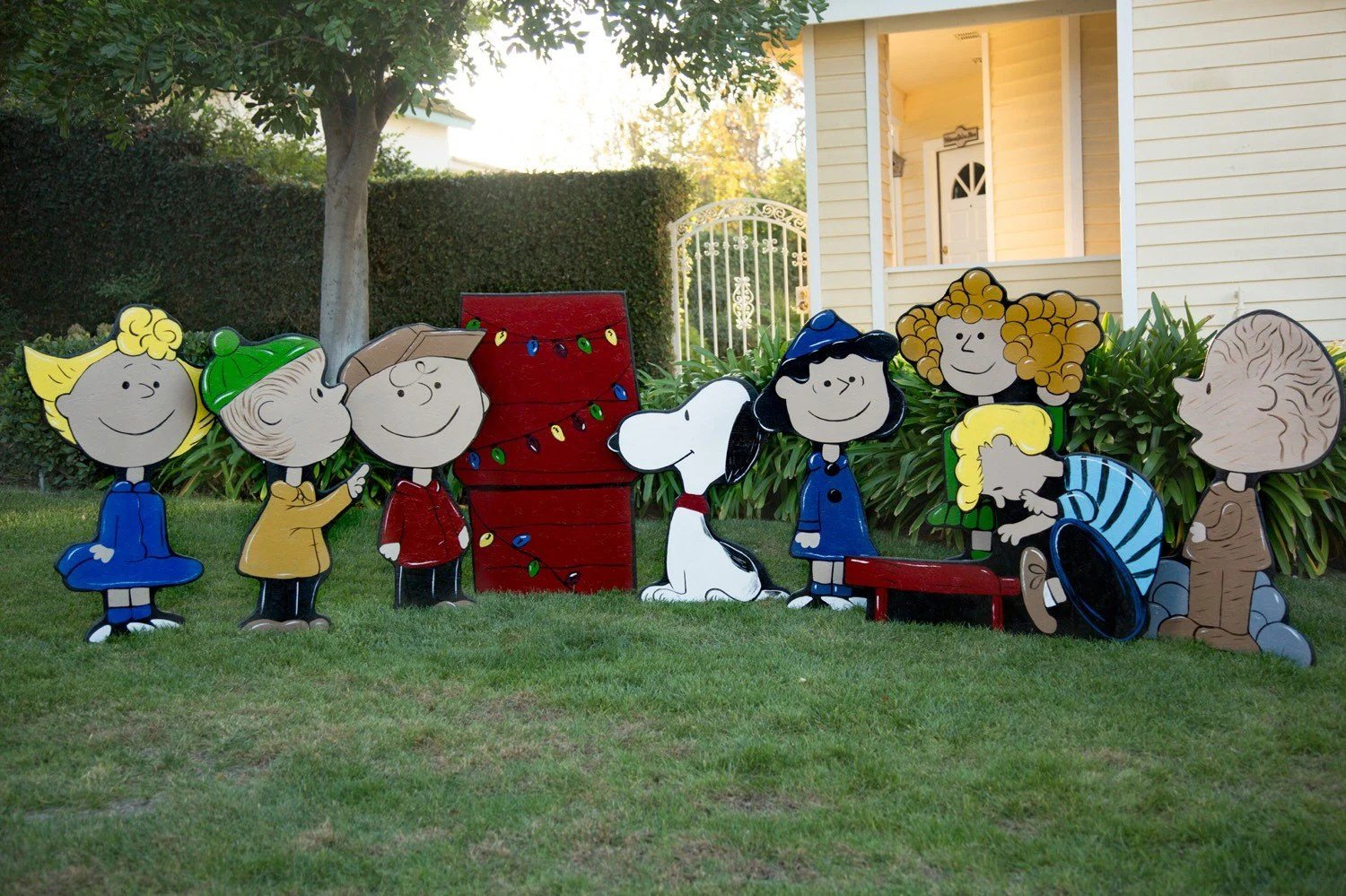 Charlie Brown Christmas Lawn Decorations - charlie brown christmas decorations